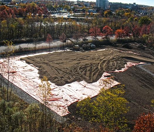 GSA Watertown project site soil