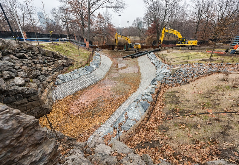 Muddy River Construction Site   Charter