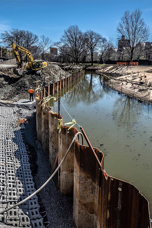 Muddy River project site
