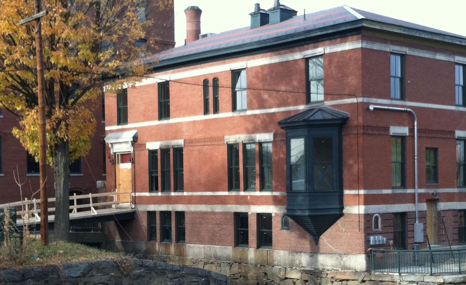 lofts at perkins place back entrance