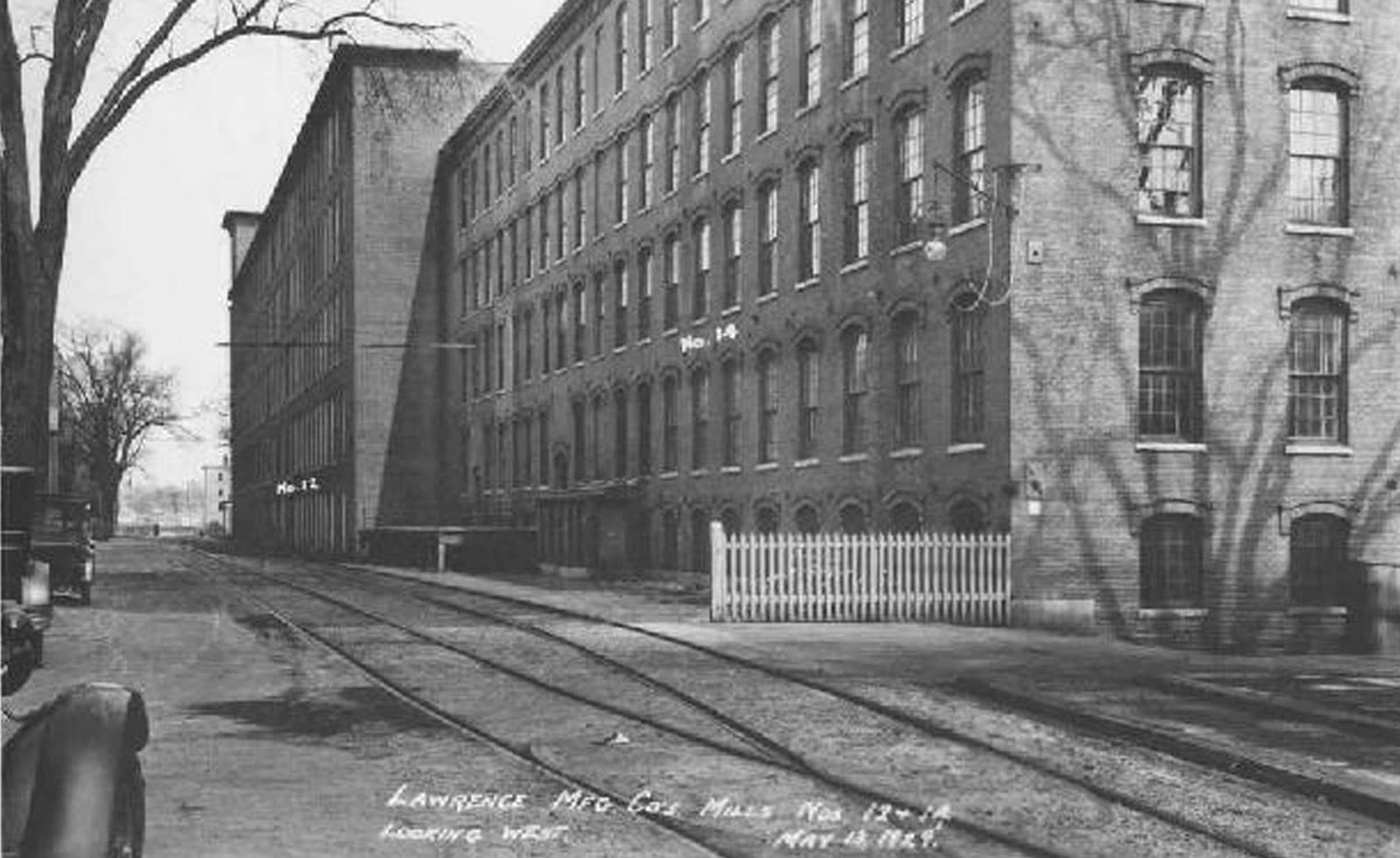 Lofts at Perkins Place in the 1920s