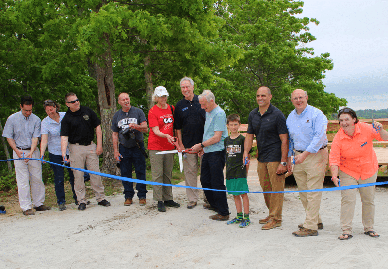 Charter Partners with Mass Audubon Society to Construct Observation Deck at the Tidmarsh Wildlife Sanctuary