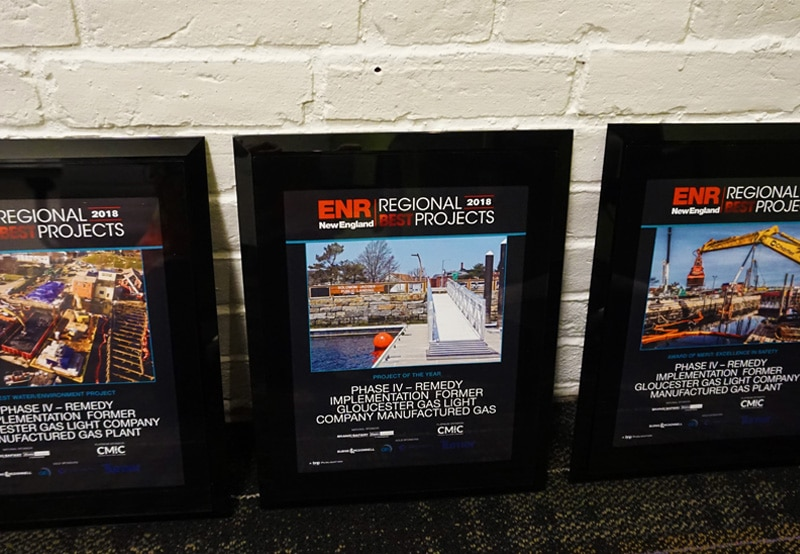 Phase IV Remedy Implementation Named ENR New England's Project of the Year