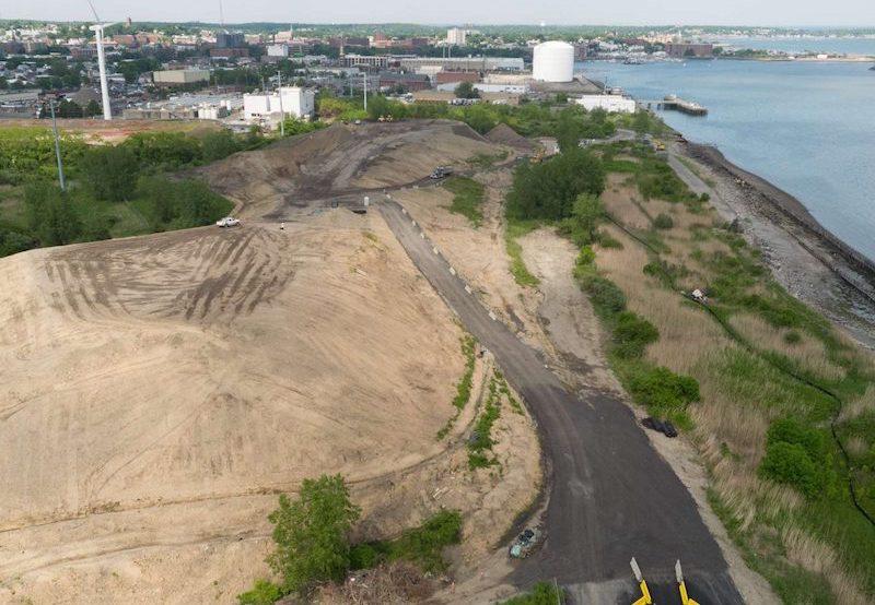 former landfill along Lynn's waterfront