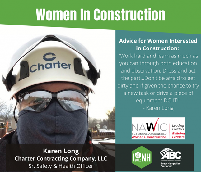 Charter's Karen Long, Senior Safety & Health Officer, Recognized During Women In Construction Week 1